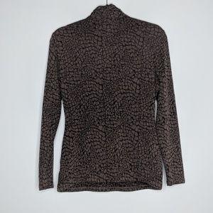 Talbots Sweaters - Talbots Snakeskin Wrap Sweater